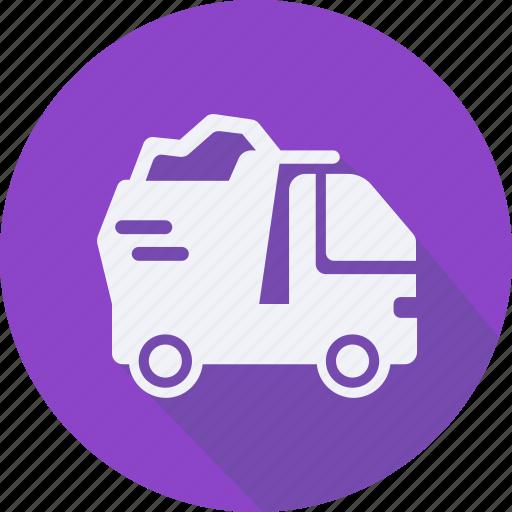 construction, dump, tool, truck, utensils icon
