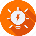 bulb, construction, light, tool, utensils icon