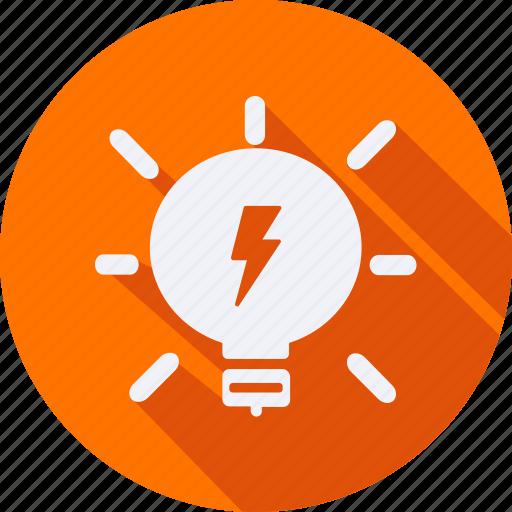 bulb, construction, light, tool, utensils icon