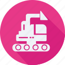 construction, loader, tool, utensils icon