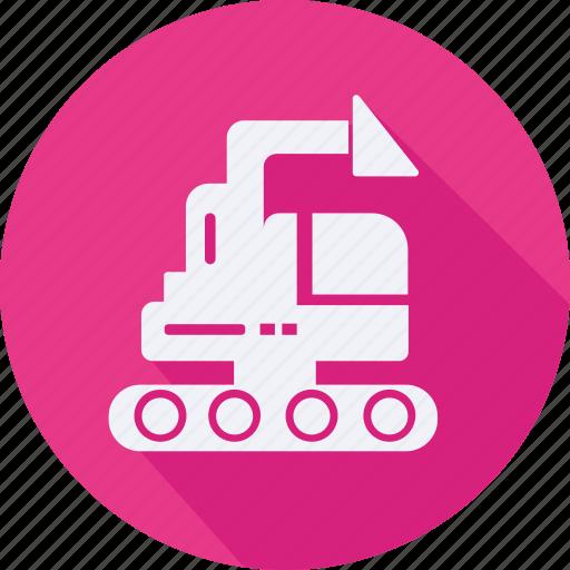 construction, loader, tool, utensils icon