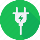 construction, plug, tool, utensils icon