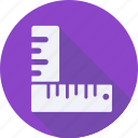 construction, ruler, tool, utensils icon