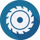 construction, saw, tool, utensils icon