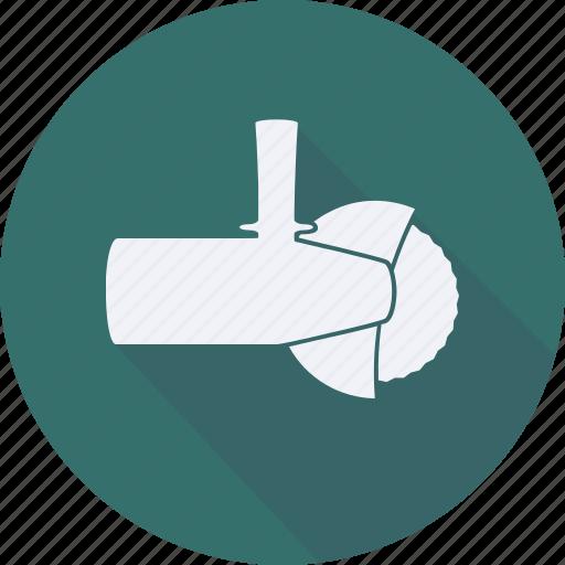 construction, saw, tool, utensils icon