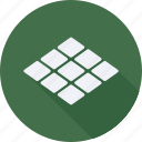 construction, tiles, tool, utensils icon