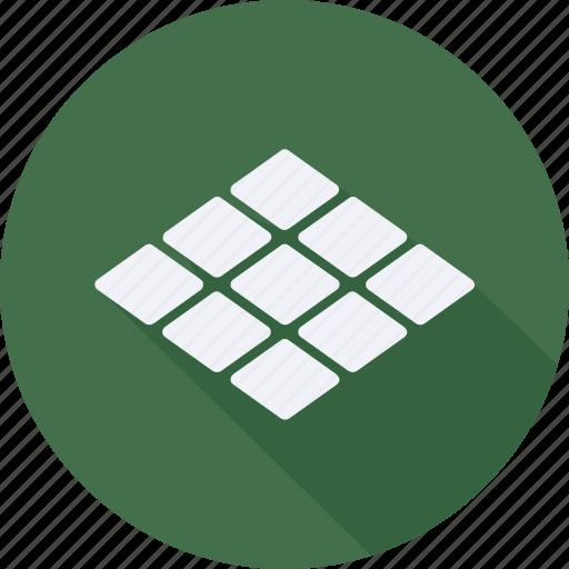 construction, tiles, tool, utensils icon