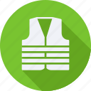 construction, tool, utensils, vest icon