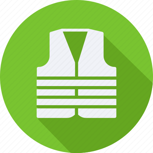construction, tool, utensils, vest icon