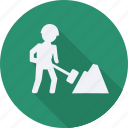 construction, tool, utensils, worker icon