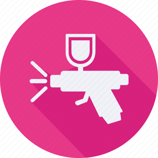 construction, gun, spray, tool, utensils icon