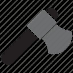 axe, equipment, hatchet, tool, tools, wood icon
