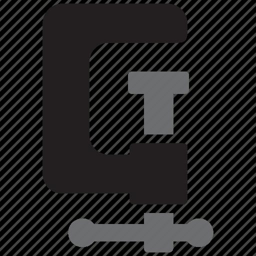 clamp, clip, equipment, tool, tools icon