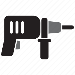 drill, hand, tool, tools icon