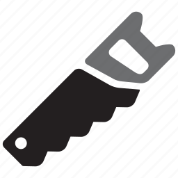 equipment, handsaw, saw, tool, tools, workshop icon