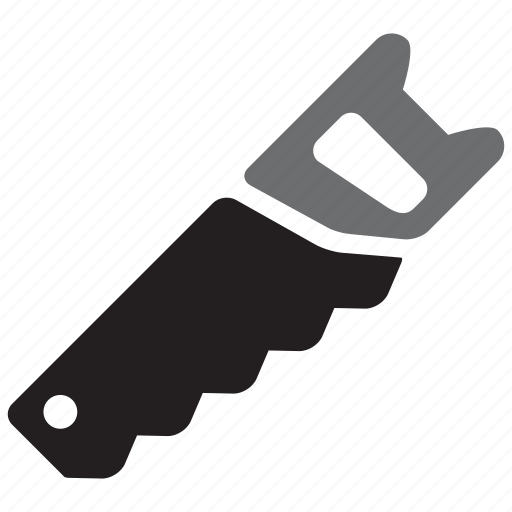equipment, handsaw, saw, tool, tools, workshop icon