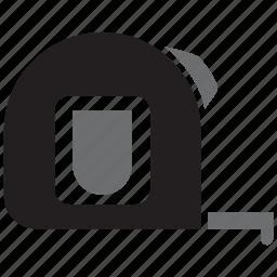 contruction, measure, measurement, meter, metre, ruler, tool icon