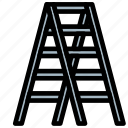 ladder, stairs, stepladder, tools, up