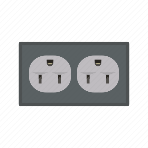 cable, electric, electrical, energy, plug, power, socket icon