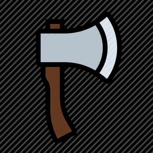 axe, hatchet, tools icon
