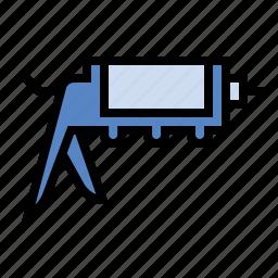 calk, gun, tools icon