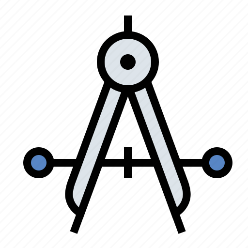 compass, tools icon