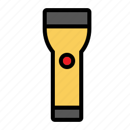 flashlight, lamp, tools, torch icon