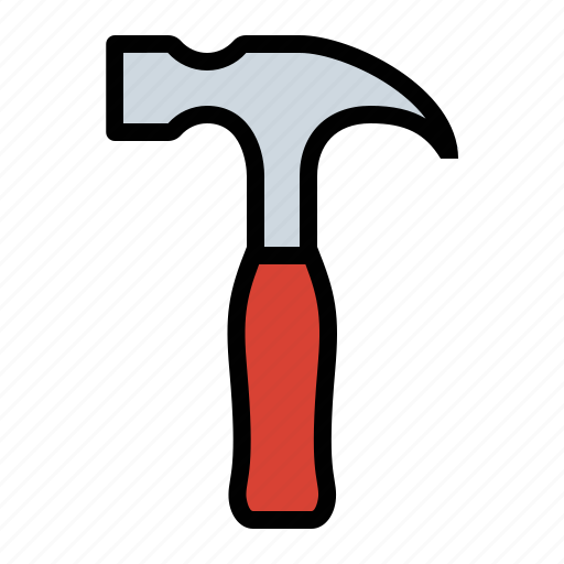 hammer, tools icon