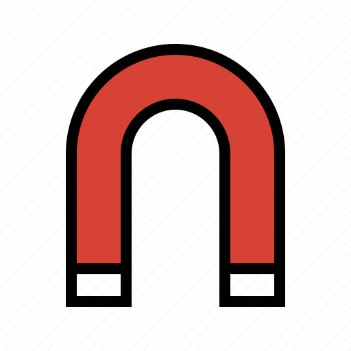 magnet, magnetic, magnetism, tools icon