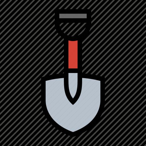 dig, shovel, spade, tools icon