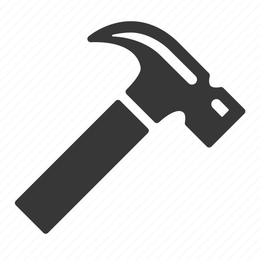 hammer, raw, simple, tool, tools icon