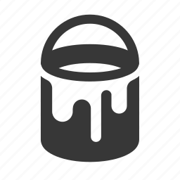 paint can, painting, raw, simple, tool, tools icon