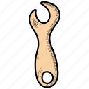 control, diy, preferences, repair, spanner, tool, wrench icon