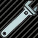 adjustable, spanner, diy, tool, equipment