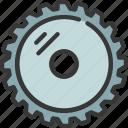 circle, saw, blade, diy, tool