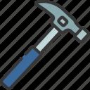 claw, hammer, diy, tool, mallet