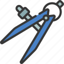 compass, diy, tool, workman, equipment