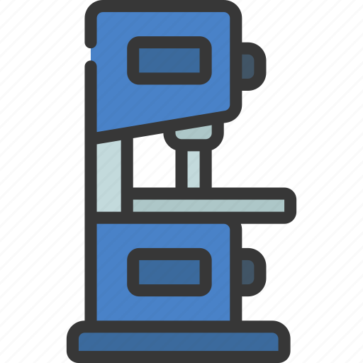 Drill, machine, tool, band, saw icon - Download on Iconfinder