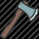 hatchet, diy, tool, axe, woodcutting