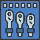 ratchet, set, diy, tool, sockets