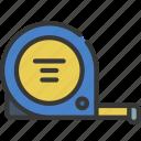 tape, measure, diy, tool, measuring