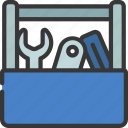 tool, box, diy, equipment, workman