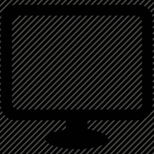 flat screen, modern, monitor, screen, tv icon
