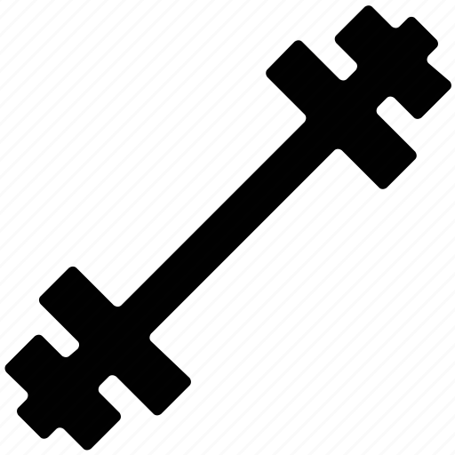 body building tool, dumbbell, exercise tool, gym, tool, weight for exercise icon