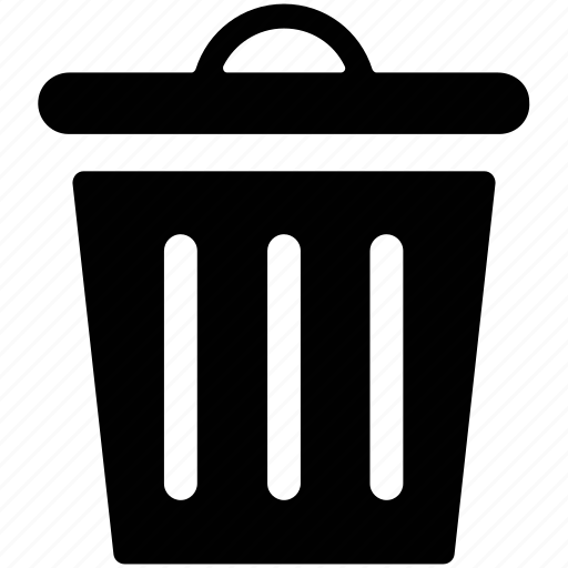 Image Gallery trashcan icon