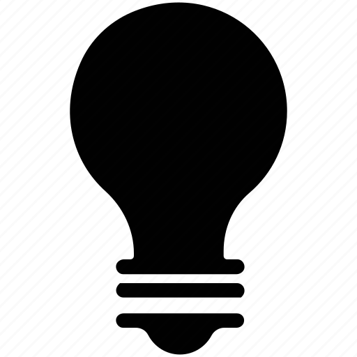 bulb, electric bulb, electric light, light, lightbulb icon
