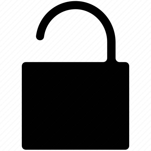 lock, lock unlock, open lock, open padlock, padlock icon