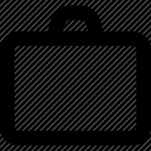 bag, baggage, box, brief case, briefcase, career, storage icon