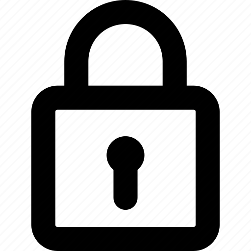 locked, password, private, protection, safe, safety lock, secure icon