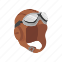 aircraft pilot, cap, hat, oxygen mask, pilot, pilot gear icon
